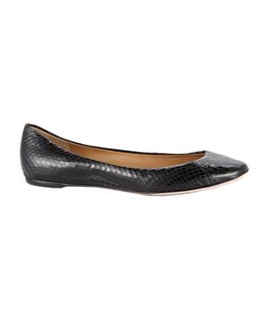 Ann Taylor Perfect Exotic Leather Flats