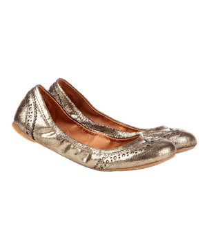 Sole Society Tanya Ruched Ballet Flat