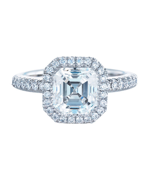 The Asscher Cut Engagement Ring