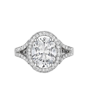 Penny Preville Diamond Engagement Ring