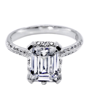 The Emerald Cut Engagement Ring