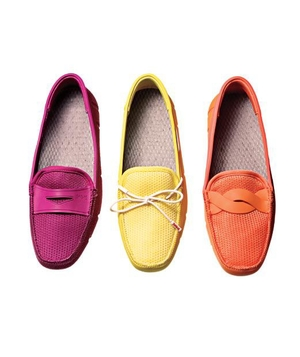 SWIMS Women's Penny Loafer Boat Shoes