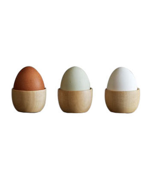 Cara Wood Egg Cup