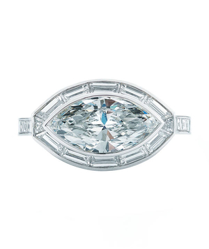 The Marquise Cut Engagement Ring