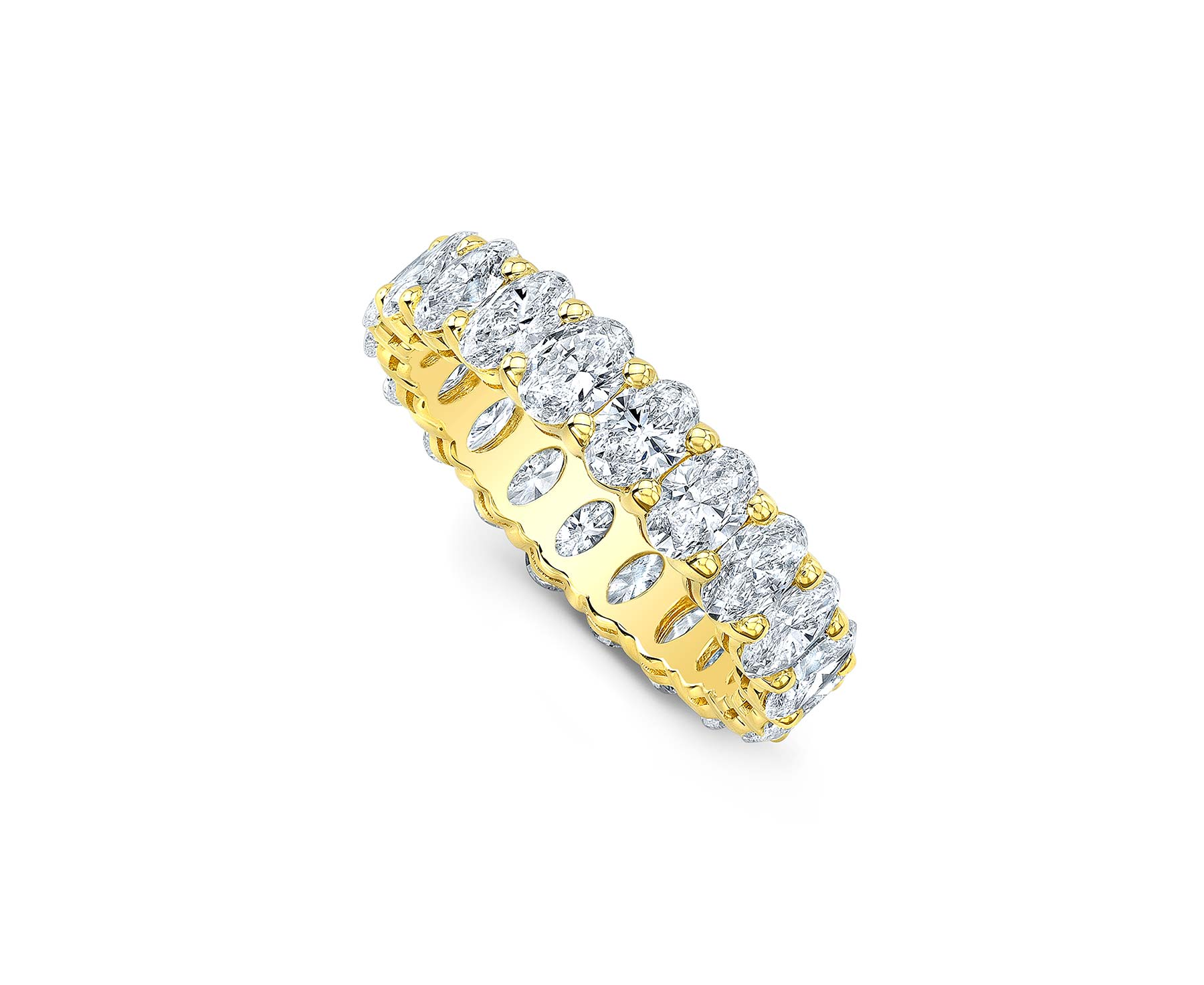 Alexandra Jules Eternity Oval Band
