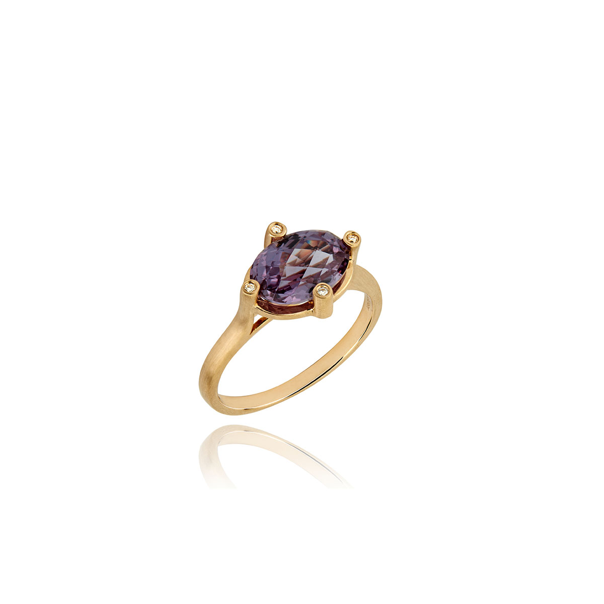 lark and berry purple sapphire unique engagement rings