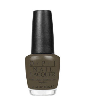 Opi nail lacquer in A-Taupe the Space Needle