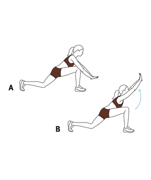 Move 4: The Low Lunge Arch