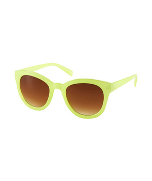 Topshop Bright Jelly Sunglasses