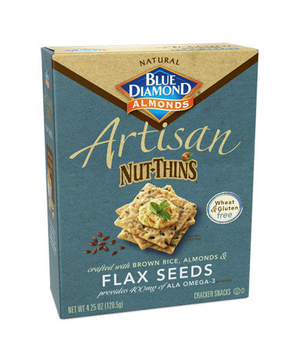 Blue Diamond Artisan Sesame Seed Nut Thins