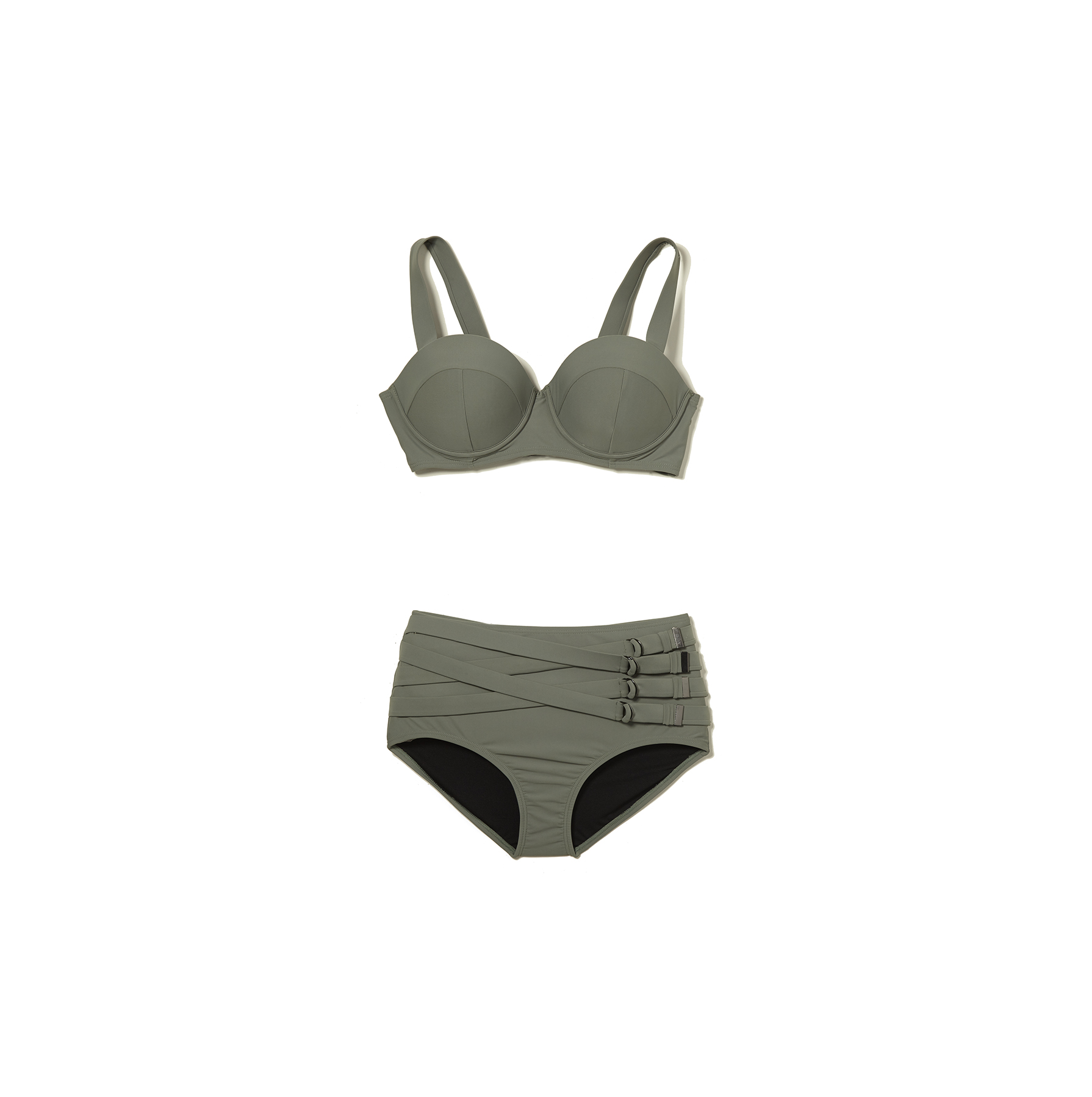 GabiFresh x Swimsuits For All Reflection Convertible Underwire Swimsuit