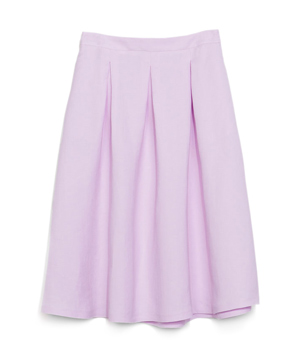 Zara A-Line Skirt With Waistband