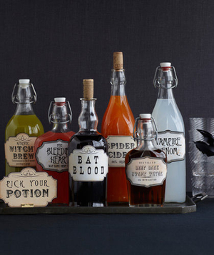 Assorted Halloween potions
