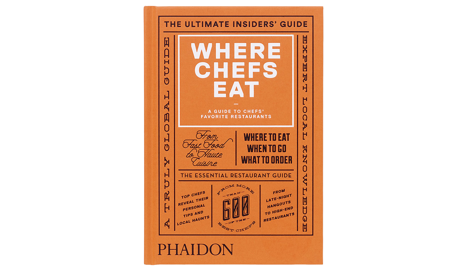 Where Chefs Eat Book
