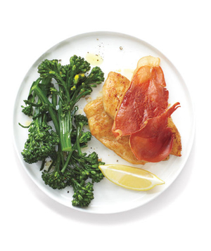 Prosciutto Chicken With Broccolini