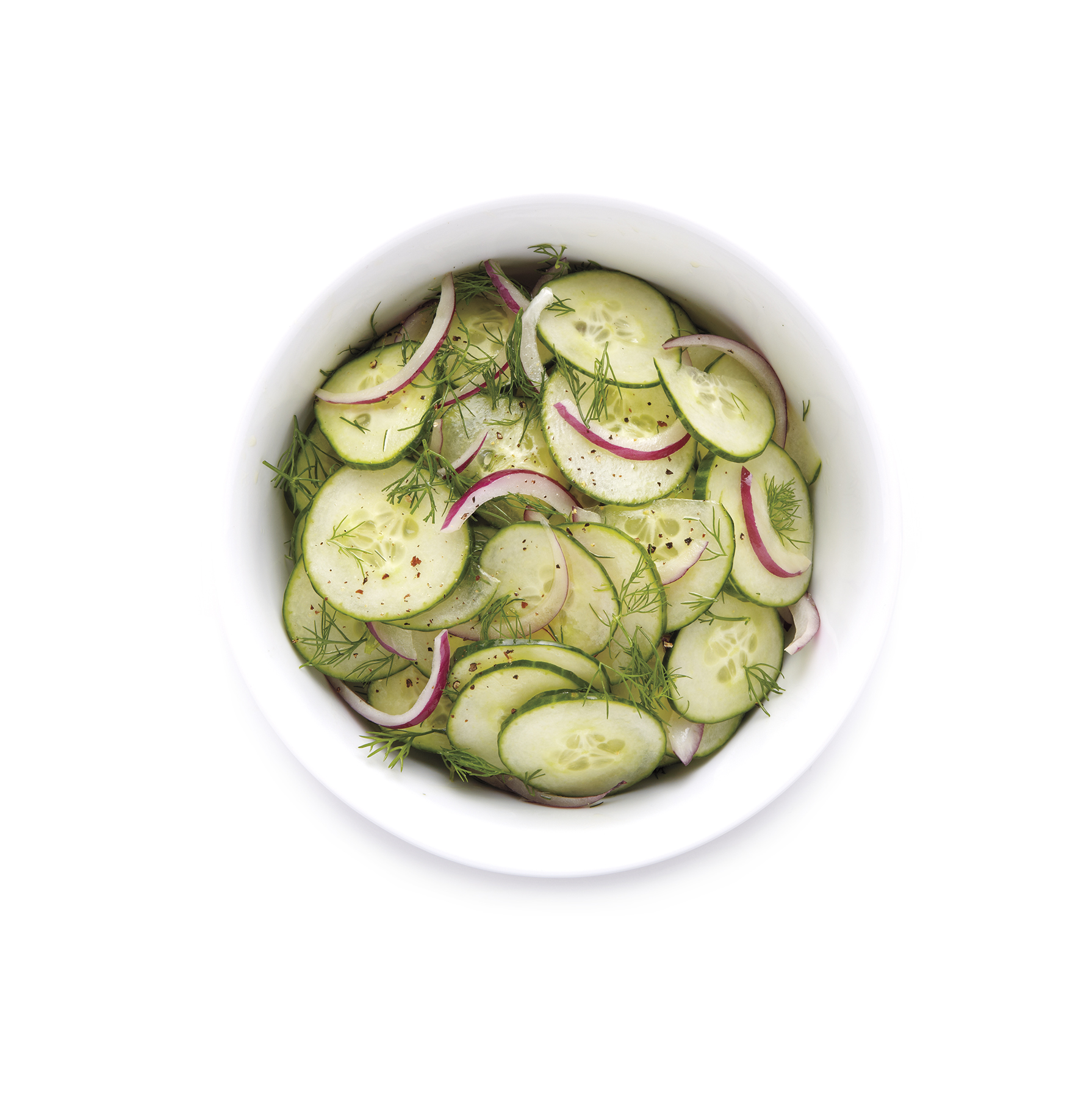 Tangy Cucumber-Dill Salad