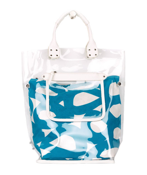 Echo Mambo Circles Plastic North/South Tote