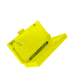 Zara Neon Box Clutch