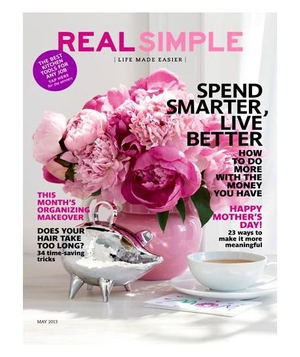 Real Simple May 2013 Cover