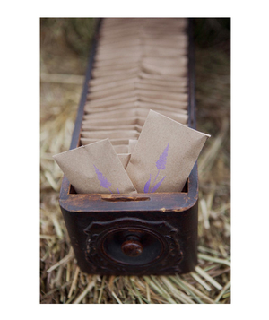 Lavender sachets wedding favors