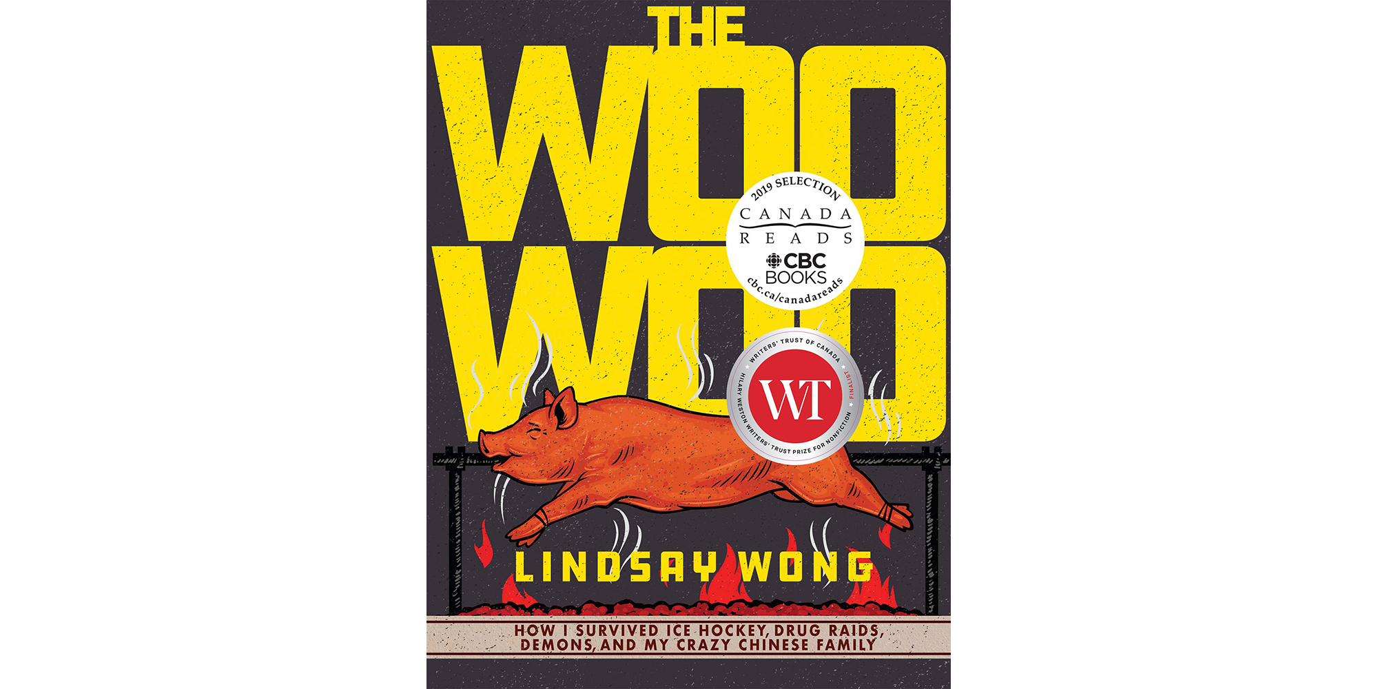 Cover of The Woo Woo, by Lindsay Wong