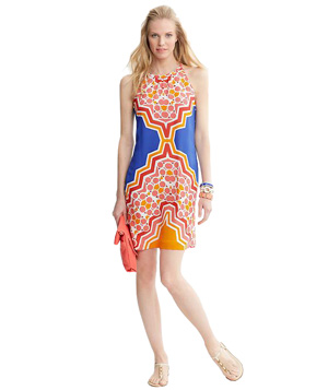 Banana Republic Printed Halter Dress