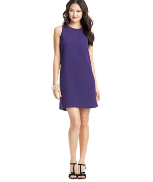 Loft Crepe Shift Dress