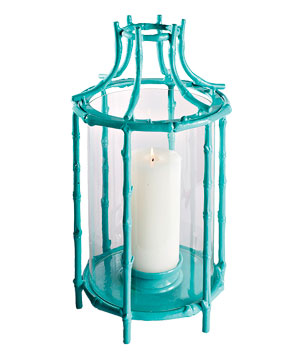 Frontgate Tropical Bamboo Lantern
