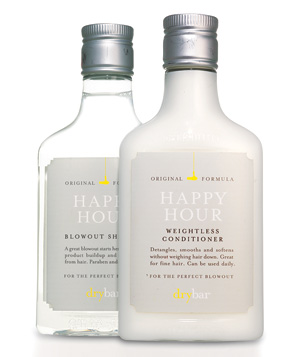 Happy Hour Blowout Shampoo and Weightless Conditioner