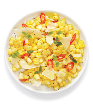 Corn Salad With Parmesan and Chilies