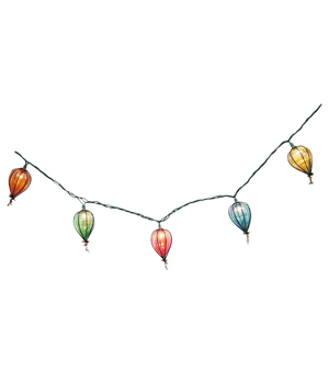 Threshold String Lights with Iridescent Bulbs