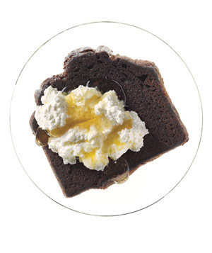Chocolate Pound Cake With Ricotta