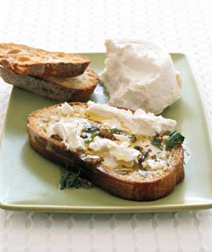 Goat Cheese Bruschetta