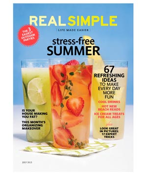 Real Simple July 2013 Cover