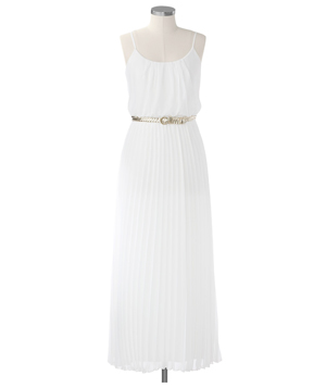 Coldwater Creek Ethereal Chiffon Dress