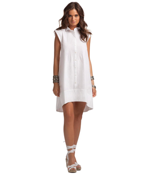 Island Company White Donovan Dress