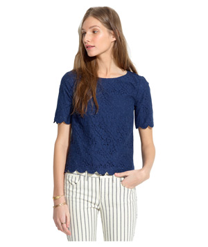 Madewell Lacebloom Top
