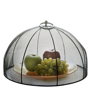 Mesa Home Mesh Food Dome Food Cover with Flip Ring
