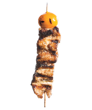 Cinnamon-Spiced Pork Satay Kebabs