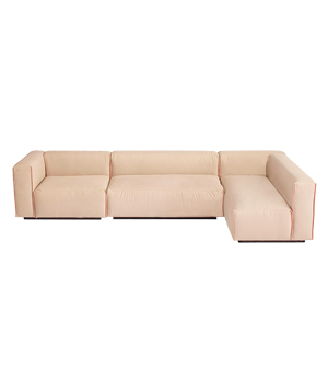 Cleon Medium + Sectional sofa in stone