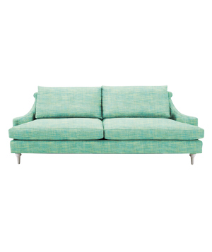 Kensington sofa in Cannes Sea