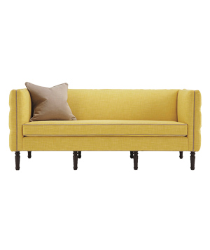 Maxine sofa in Meridian-Citron