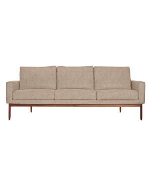 Raleigh Sofa in beige Maharam Flora