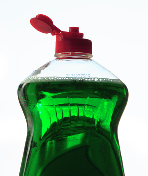 Green dishwashing detergent