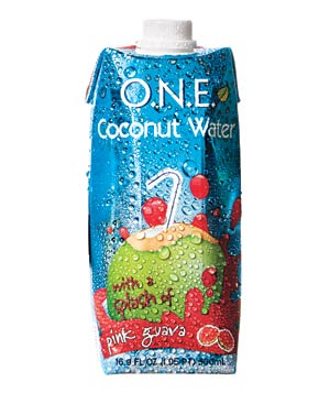 O.N.E. Coconut Water With Pink Guava