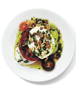 Sicilian Caprese With Raisins