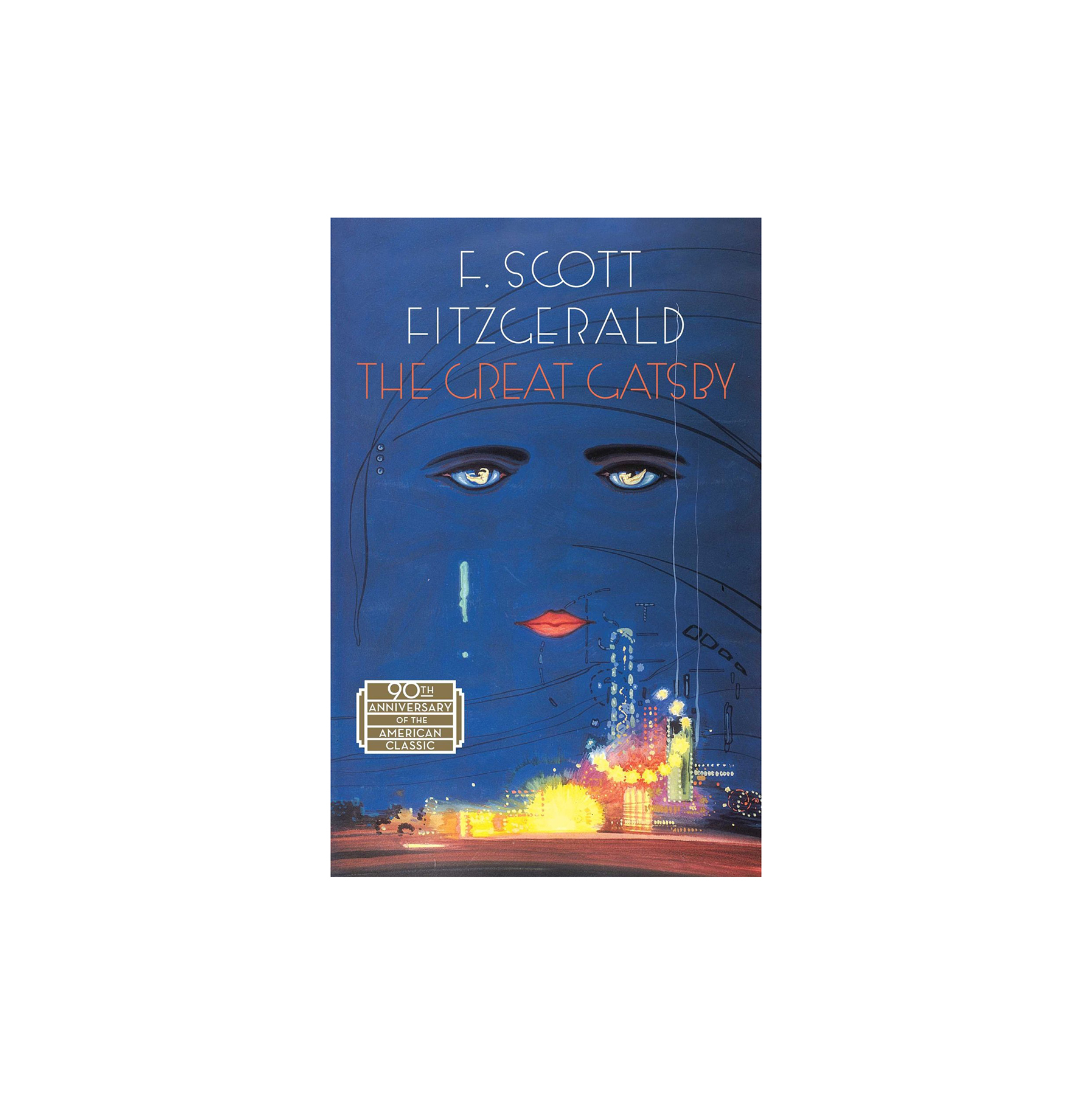 The Great Gatsby, by F. Scott Fitzgerald