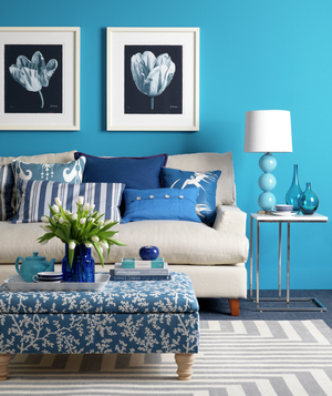 Turquoise Living Room. Full Size Of Living Roomblue And White ...