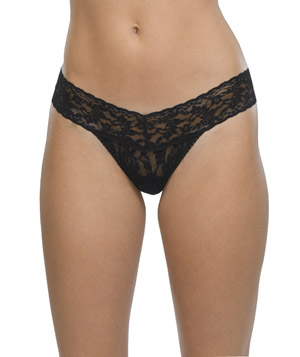 Hanky Panky Rolled Signature Lace Low Rise Thong