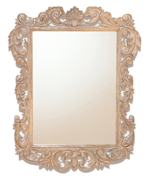 isla carved mirror
